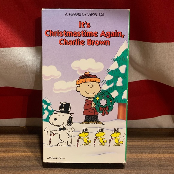 It's Christmas Time Again, Charlie Brown VHS